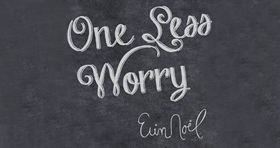 """""""One Less Worry"""" by Erin Noel for The Pink Fund"""