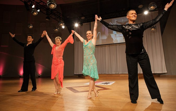 Dancing with the Survivors event attendants photos
