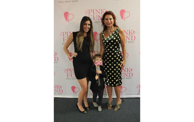 Attendants at the Pink Fund Dancing with the Survivors event