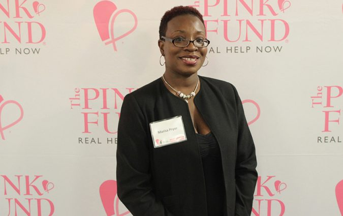 Marissa Pryor at Dancing with the Survivors event