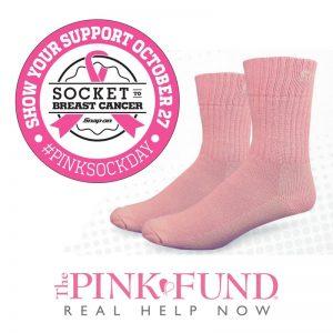 pink fund socks