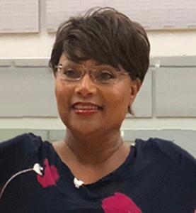 Stephanie M. pink fund recipient