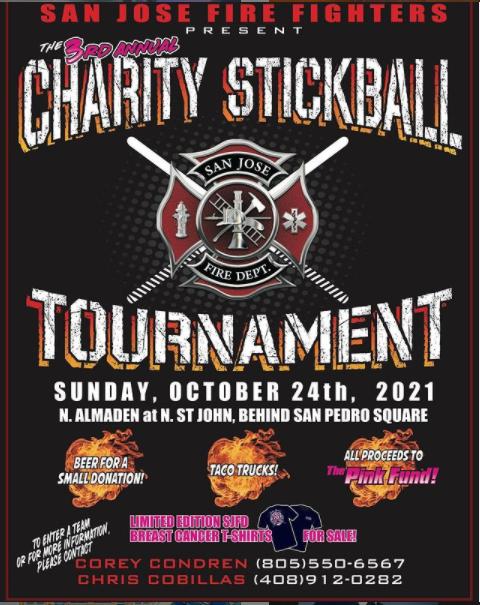 San Jose Fire Department Stickball Tournament